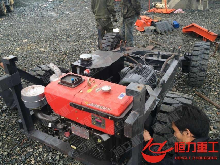 轮式车拆车及分解